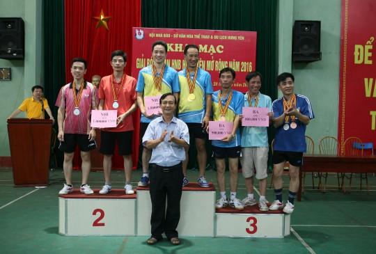 DONEXsport đồng hành tài trợ giải bóng bàn Hội Nhà báo Hưng Yên