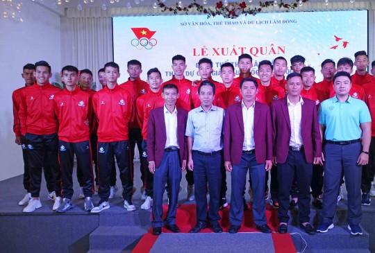 Đoàn thể thao Lâm Đồng xuất quân tham gia các giải thể thao tron