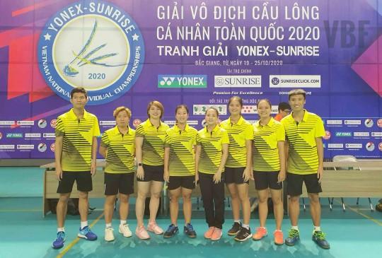 Giải vô địch cầu lông cá nhân toàn quốc 2020: Nguyễn Thùy Linh b