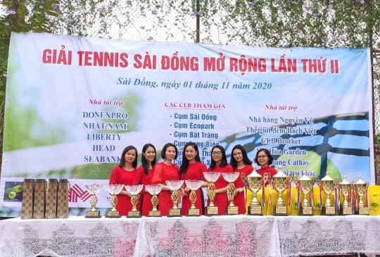 Donexpro đồng hành cùng giải Tennis Sài Đồng mở rộng 2020