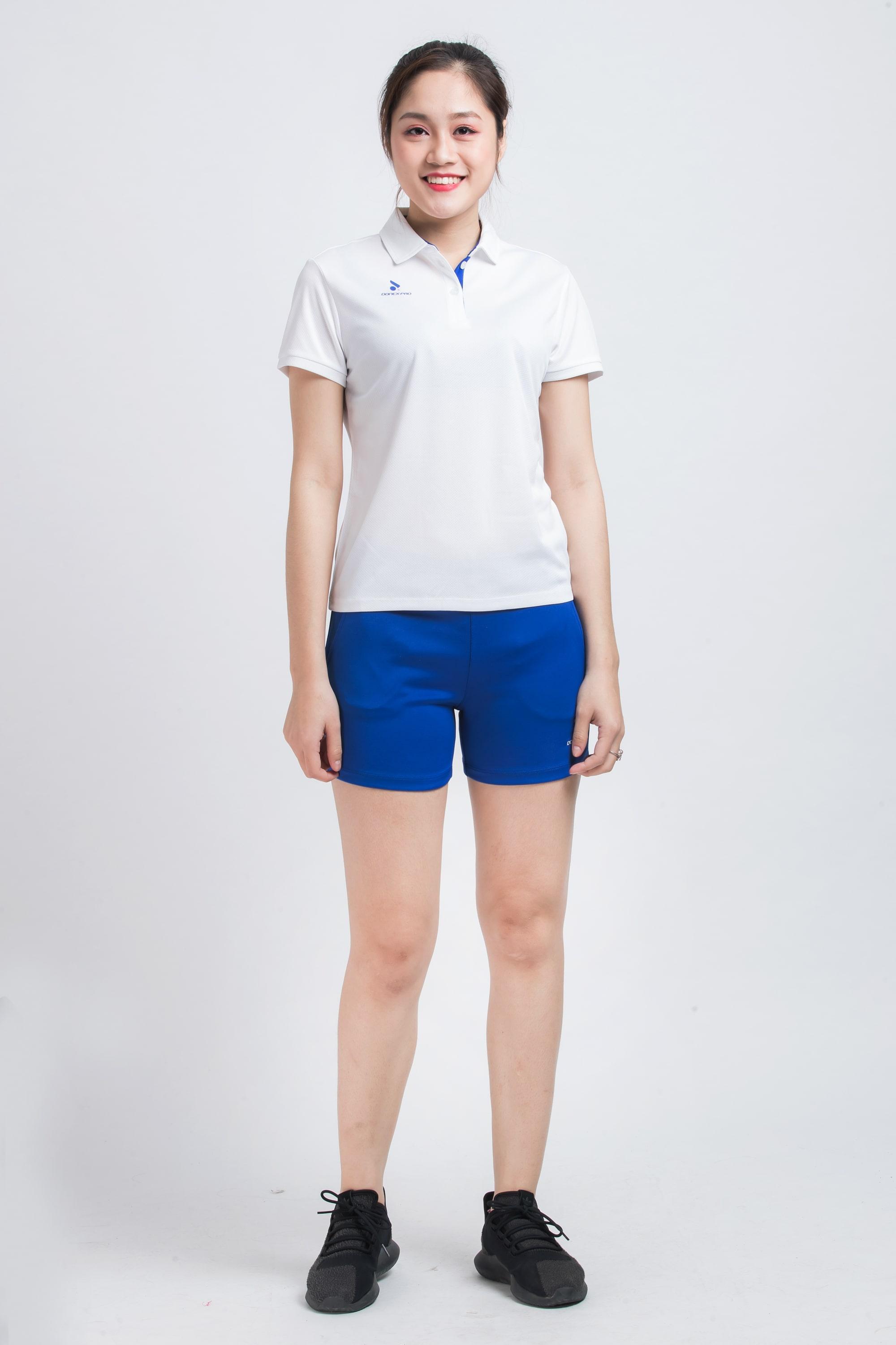 Quần thể thao nữ ASC-870 - Xanh bích phối trắng