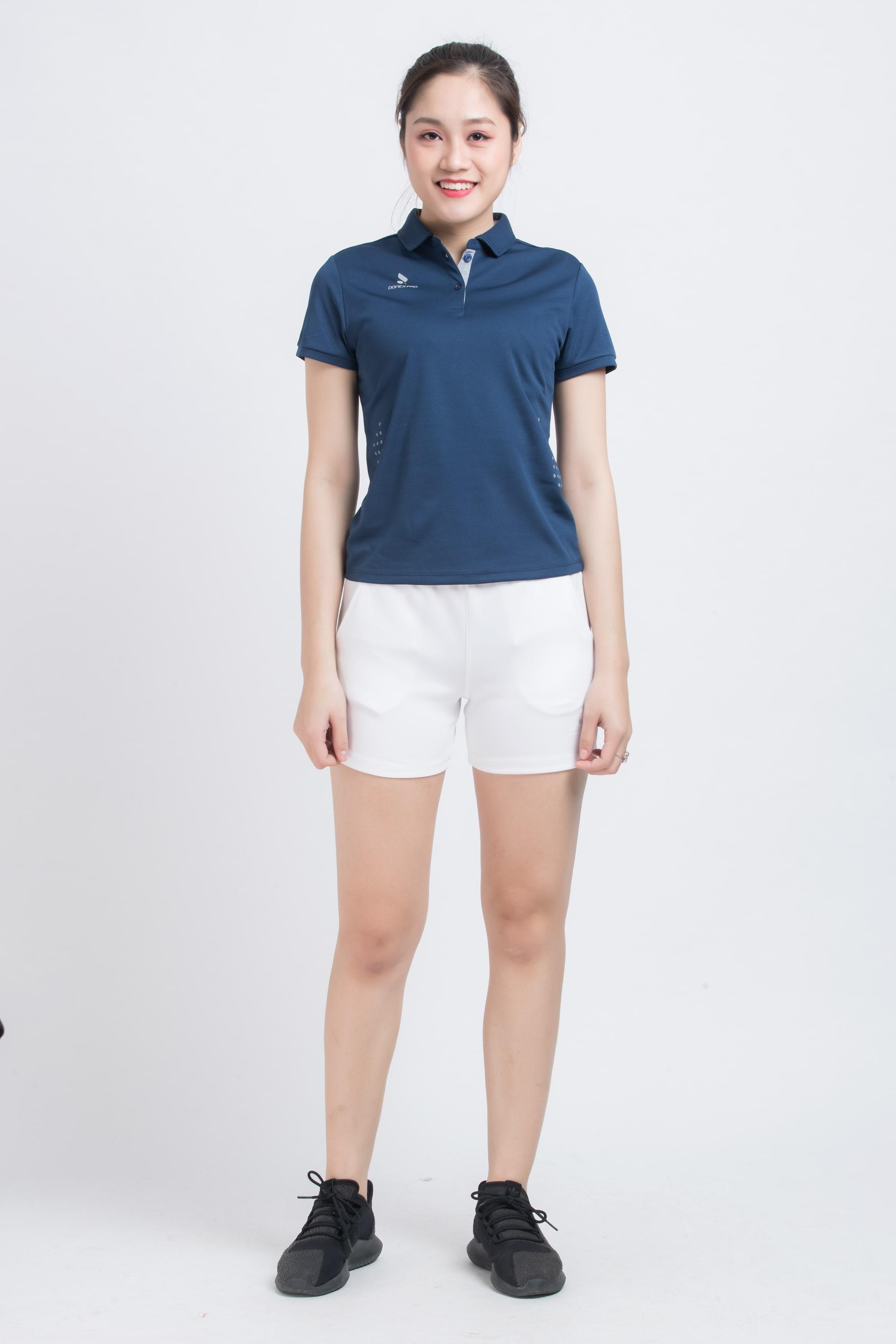 Quần thể thao nữ ASC-868 - Trắng phối trắng
