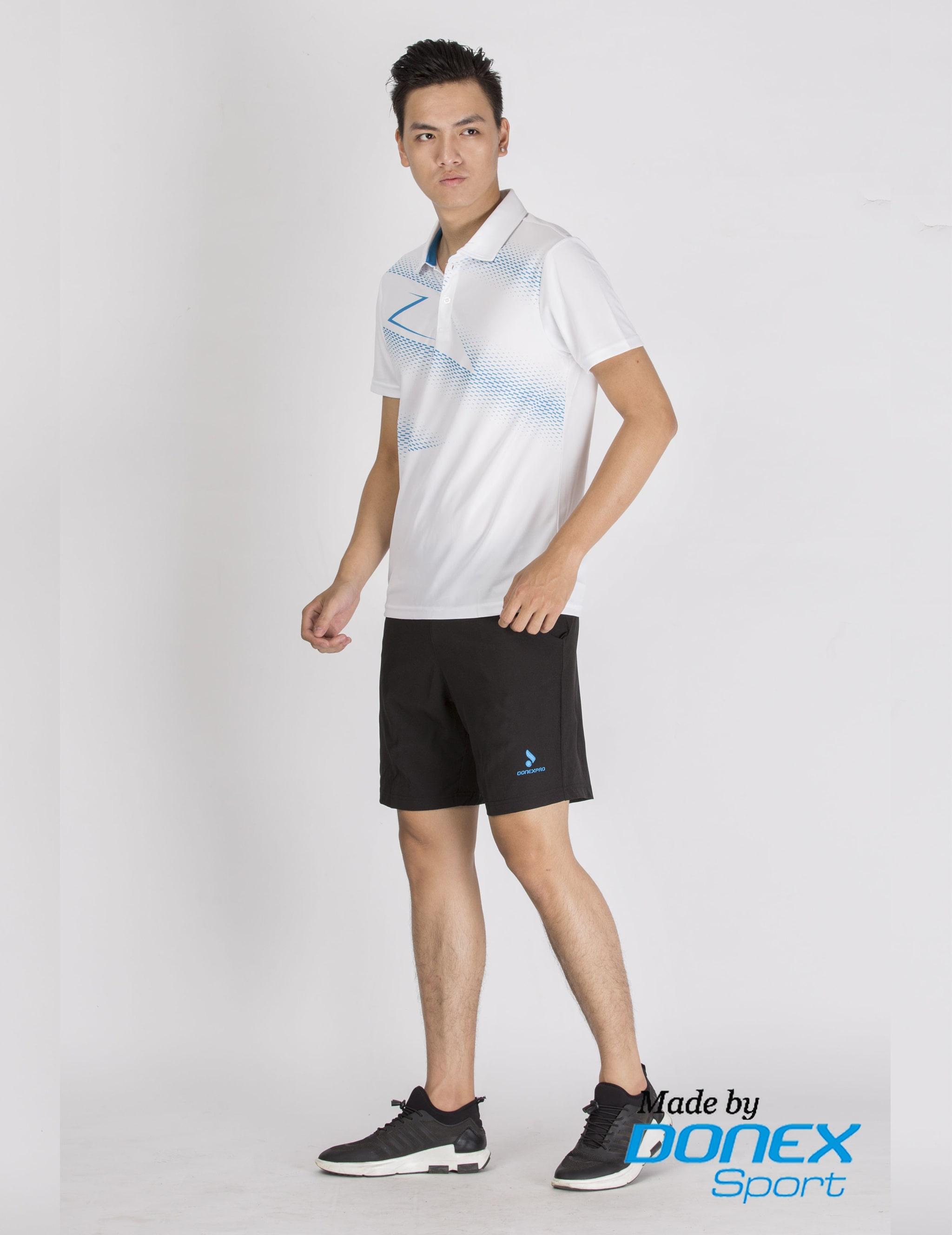 Quần thể thao nam MSC965-08-02 đen phối xanh cô ban
